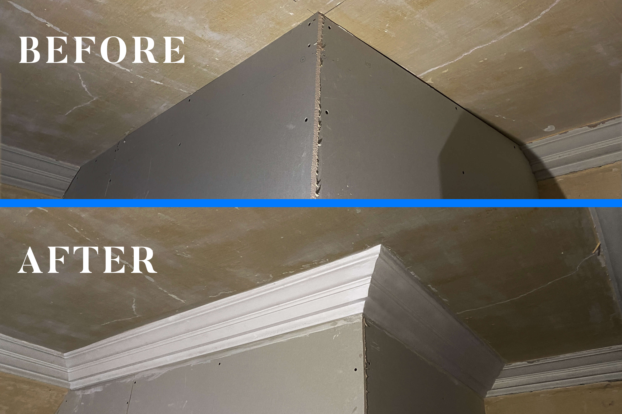 Link to Decorative cornice fitting in Bishopbriggs, Glasgow