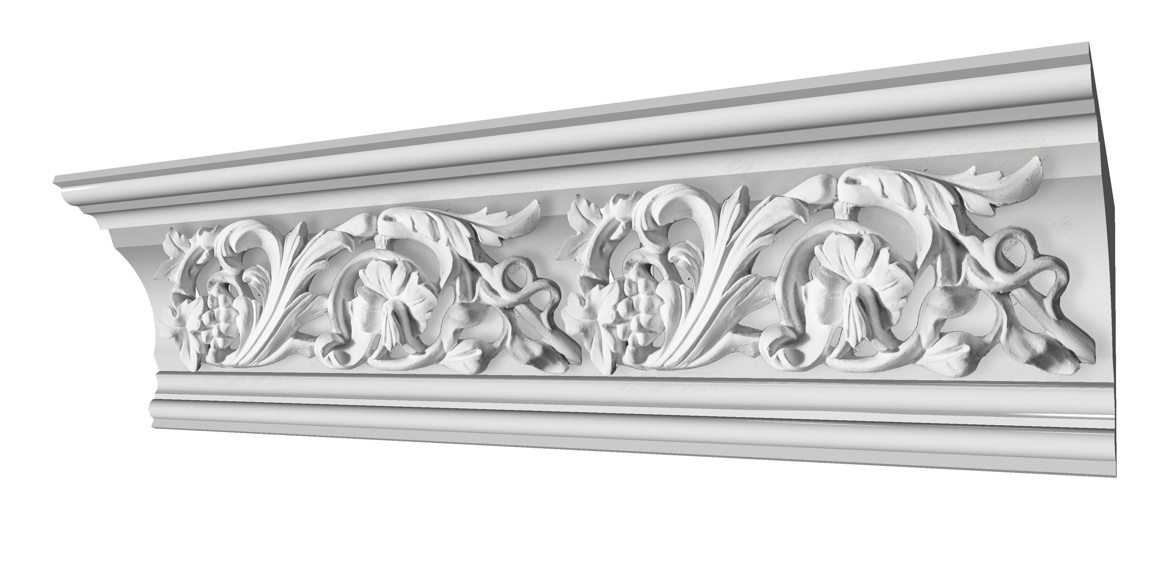 KINLOCHARD PLASTER COVING DECORATION