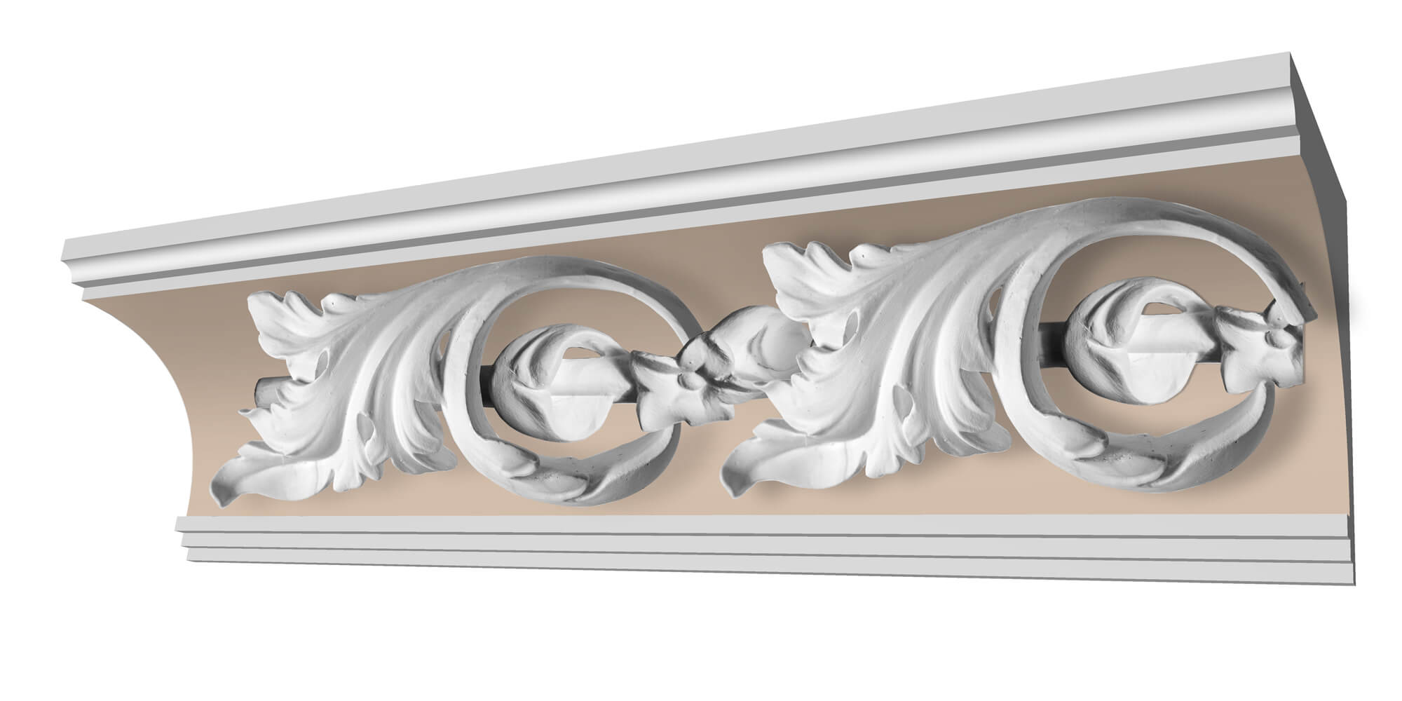 Succoth Customisable Plaster Coving Decoration